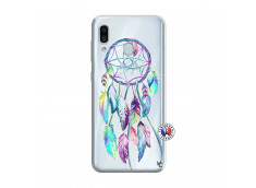 Coque Samsung Galaxy A30 Blue Painted Dreamcatcher