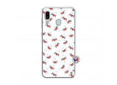 Coque Samsung Galaxy A30 Cartoon Heart Translu