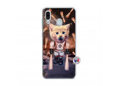 Coque Samsung Galaxy A30 Cat Nasa Translu