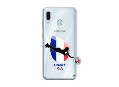 Coque Samsung Galaxy A30 Coupe du Monde de Rugby-France