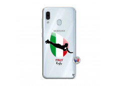 Coque Samsung Galaxy A30 Coupe du Monde Rugby-Italy