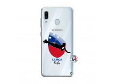Coque Samsung Galaxy A30 Coupe du Monde Rugby-Samoa