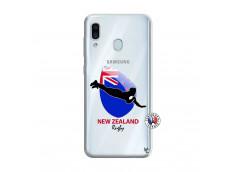 Coque Samsung Galaxy A30 Coupe du Monde Rugby- Nouvelle Zélande