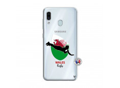 Coque Samsung Galaxy A30 Coupe du Monde Rugby-Walles