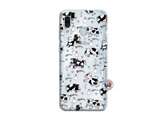 Coque Samsung Galaxy A30 Cow Pattern