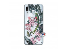 Coque Samsung Galaxy A30 Flower Birds