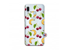 Coque Samsung Galaxy A30 Hey Cherry, j'ai la Banane