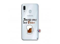 Coque Samsung Galaxy A30 Jamais Sans Ma Brune