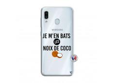 Coque Samsung Galaxy A30 Je m'en bats Les Noix De Coco