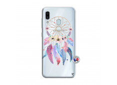 Coque Samsung Galaxy A30 Multicolor Watercolor Floral Dreamcatcher