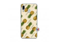 Coque Samsung Galaxy A30 Sorbet Ananas Translu