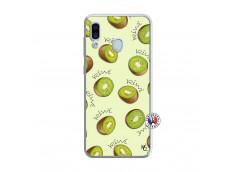 Coque Samsung Galaxy A30 Sorbet Kiwi Translu