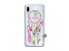 Coque Samsung Galaxy A30 Pink Painted Dreamcatcher