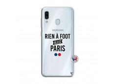 Coque Samsung Galaxy A30 Rien A Foot Allez Paris
