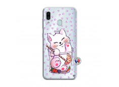 Coque Samsung Galaxy A30 Smoothie Cat