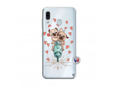 Coque Samsung Galaxy A30 Puppies Love