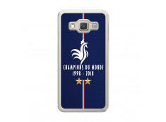 Coque Samsung Galaxy A3 Champions Du Monde 1998 2018 Transparente
