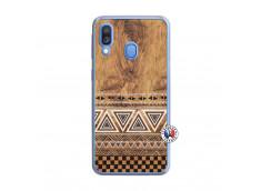 Coque Samsung Galaxy A40 Aztec Deco Translu