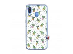 Coque Samsung Galaxy A40 Le Monde Entier est un Cactus Translu