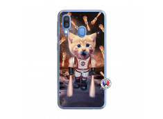 Coque Samsung Galaxy A40 Cat Nasa Translu