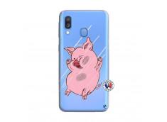 Coque Samsung Galaxy A40 Pig Impact