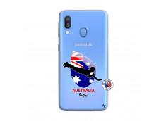 Coque Samsung Galaxy A40 Coupe du Monde Rugby-Australia