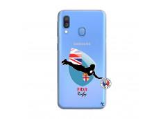Coque Samsung Galaxy A40 Coupe du Monde Rugby Fidji