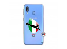 Coque Samsung Galaxy A40 Coupe du Monde Rugby-Italy