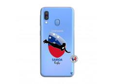 Coque Samsung Galaxy A40 Coupe du Monde Rugby-Samoa