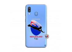 Coque Samsung Galaxy A40 Coupe du Monde Rugby- Nouvelle Zélande