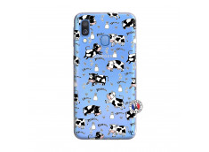 Coque Samsung Galaxy A40 Cow Pattern