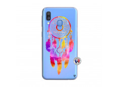 Coque Samsung Galaxy A40 Dreamcatcher Rainbow Feathers