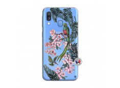 Coque Samsung Galaxy A40 Flower Birds