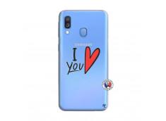 Coque Samsung Galaxy A40 I Love You