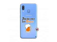 Coque Samsung Galaxy A40 Jamais Sans Ma Rousse