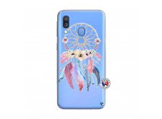 Coque Samsung Galaxy A40 Multicolor Watercolor Floral Dreamcatcher
