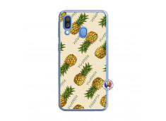 Coque Samsung Galaxy A40 Sorbet Ananas Translu