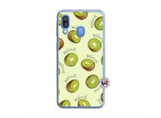 Coque Samsung Galaxy A40 Sorbet Kiwi Translu