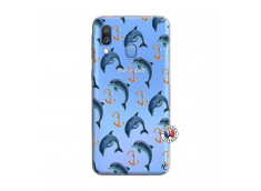 Coque Samsung Galaxy A40 Dauphins