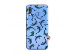 Coque Samsung Galaxy A40 Dolphins