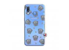 Coque Samsung Galaxy A40 Petits Elephants