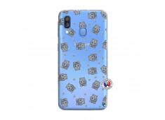 Coque Samsung Galaxy A40 Petits Hippos