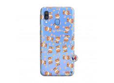 Coque Samsung Galaxy A40 Petits Renards