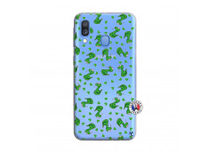 Coque Samsung Galaxy A40 Petits Serpents