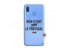 Coque Samsung Galaxy A40 Rien A Foot Allez Le Portugal
