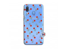Coque Samsung Galaxy A40 Rose Pattern