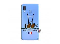 Coque Samsung Galaxy A40 100 % Rugbyman Entre les Poteaux