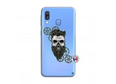 Coque Samsung Galaxy A40 Skull Hipster