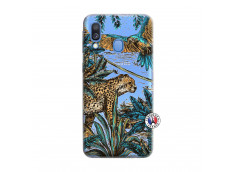 Coque Samsung Galaxy A40 Leopard Jungle
