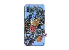 Coque Samsung Galaxy A40 Leopard Tree